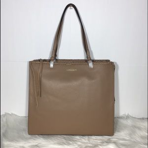 VINCE CAMUTO LITZY LEATHER TOTE